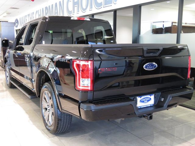 2016 ford f 150 supercrew xlt 161696 chapman automotive group. Black Bedroom Furniture Sets. Home Design Ideas