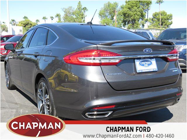 2017 ford fusion titanium 170205 chapman automotive group. Black Bedroom Furniture Sets. Home Design Ideas