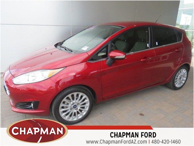 2014 Ford Fiesta Titanium Details