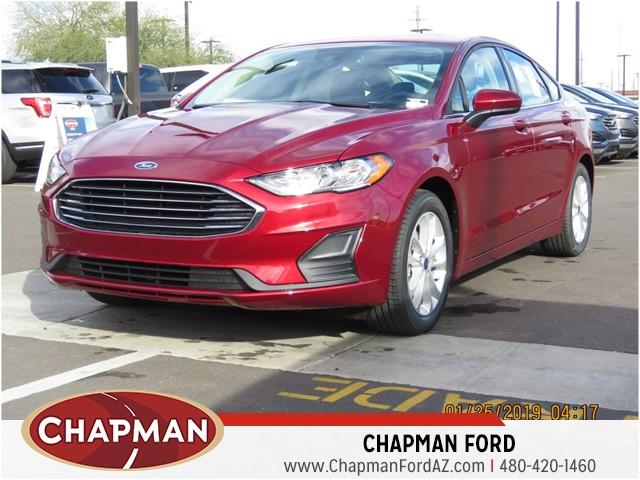 New 2019 Ford Fusion SE - 190495 | Chapman Scottsdale