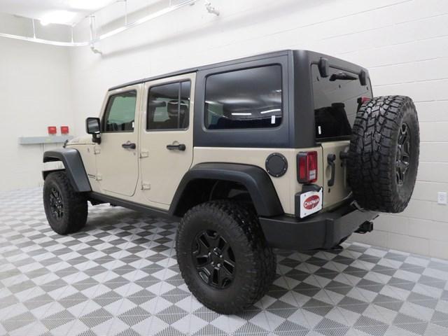 2016 Jeep Wrangler Unlimited Willys Wheeler W