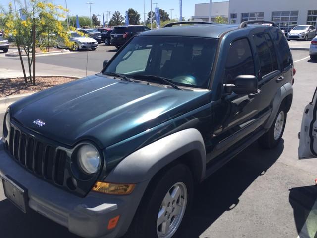 2005 Jeep Liberty Sport – Stock #H1625120A