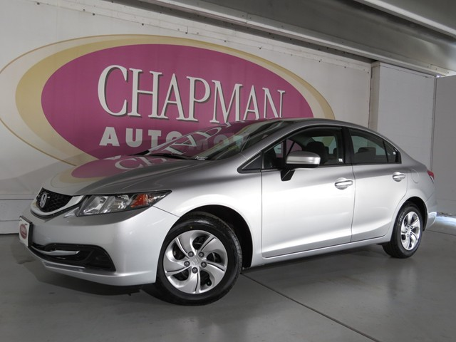 used 2014 honda civic lx stock h1770690 chapman acura tucson. Black Bedroom Furniture Sets. Home Design Ideas