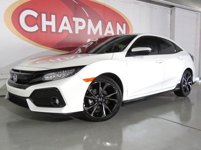 New 2019 Honda Civic Hatchback Sport Touring H1903420 Chapman Honda