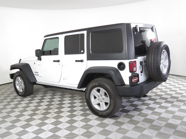 Used 2018 Jeep Wrangler Unlimited Sport