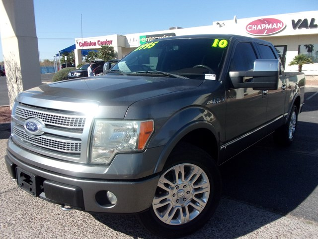 Used 2010 Ford F-150 Platinum Crew Cab