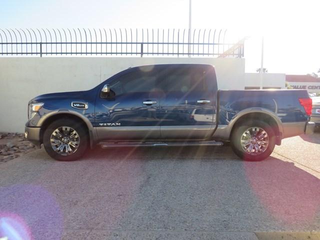Used 2017 Nissan Titan Platinum Reserve Crew Cab