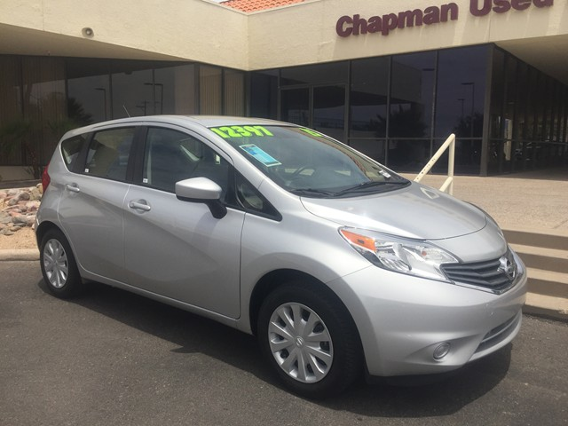 used 2016 nissan versa note sr for sale stock t1770700 chapman honda tucson. Black Bedroom Furniture Sets. Home Design Ideas