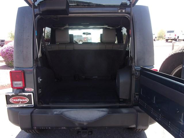 Used 2007 Jeep Wrangler Unlimited Sahara