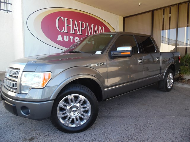 Used 2011 Ford F-150 Platinum Crew Cab
