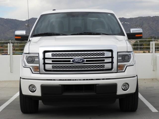 2014 Ford F-150 Platinum Crew Cab Nav – Stock #481108A