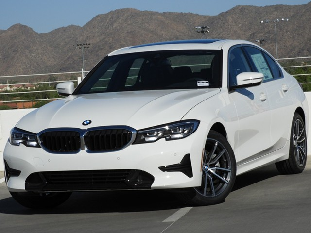 2019 BMW 3-Series 330i Sedan 8-Speed Steptronic Automatic w/Sport Transmission RWD