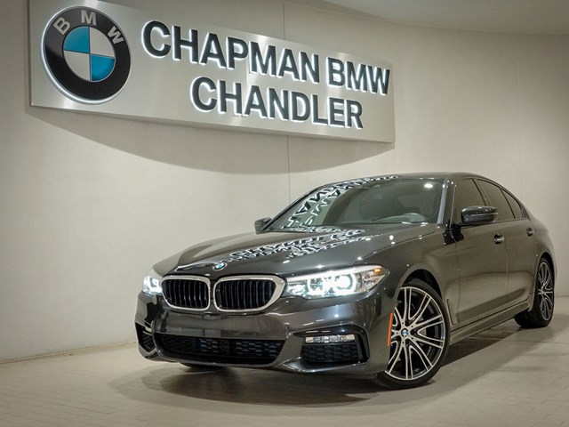 Certified Pre-Owned 2018 BMW 5-Series 540i M-Sport Pkg Nav