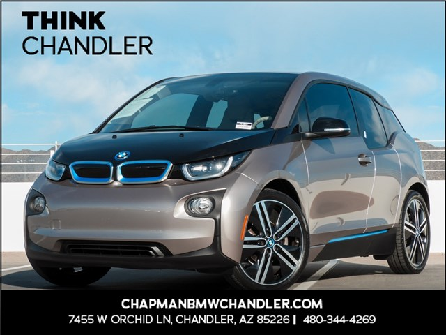 Certified Pre-Owned 2015 BMW i3 Mega Pkg Nav