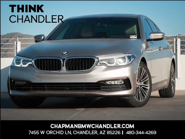Certified Pre-Owned 2017 BMW 5-Series 540i