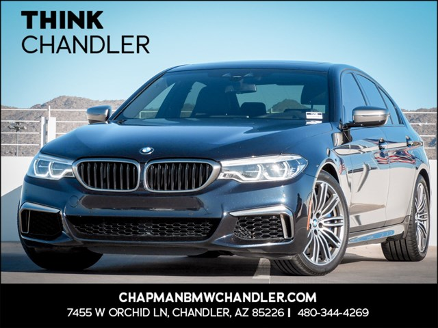Certified Pre-Owned 2018 BMW 5-Series M550i xDrive Exec Pkg Nav