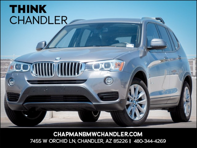 Used 2016 BMW X3 xDrive28i Prem/Tech Pkg Nav