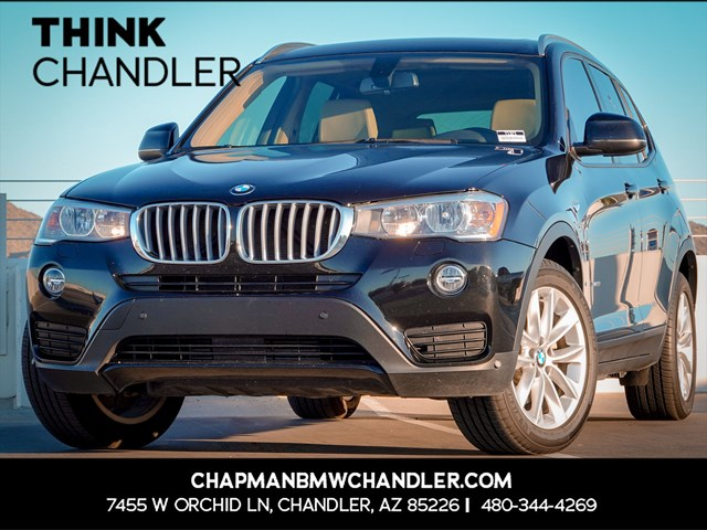 Certified Pre-Owned 2017 BMW X3 sDrive28i Premium Pkg
