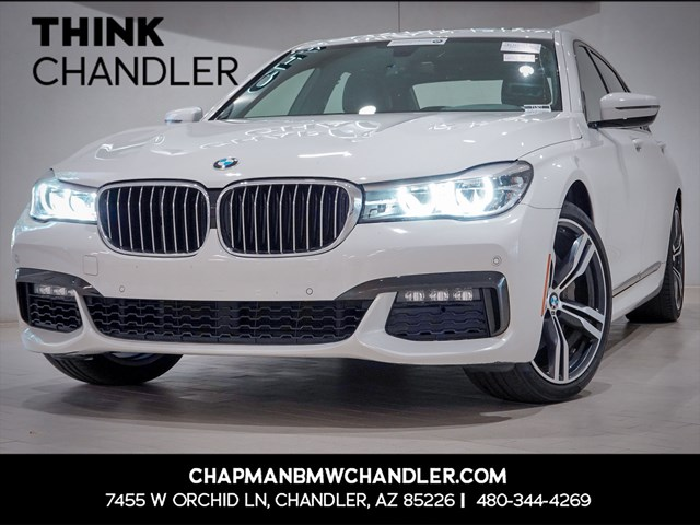Certified Pre-Owned 2017 BMW 7-Series 740i M-Sport Pkg Nav