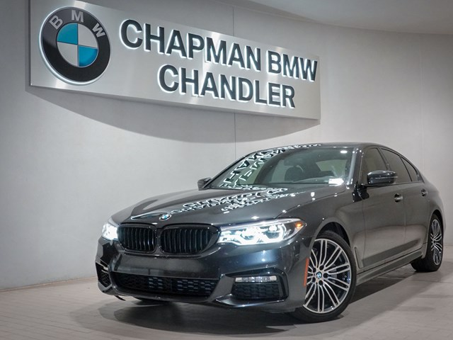 Certified Pre-Owned 2017 BMW 5-Series 540i Premium/M-Sport Pkg Nav