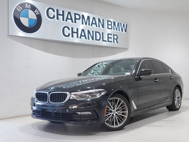 Certified Pre-Owned 2017 BMW 5-Series 540i Premium Pkg Nav