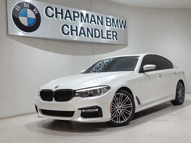 Used 2018 BMW 5-Series 530i M-Sport Pkg Nav