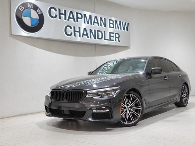 Certified Pre-Owned 2017 BMW 5-Series 540i M-Sport Pkg Nav