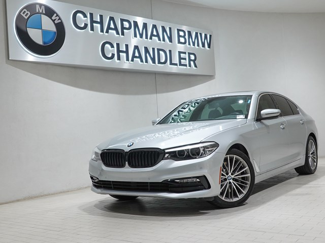 Certified Pre-Owned 2018 BMW 5-Series 540i Prem Pkg Nav