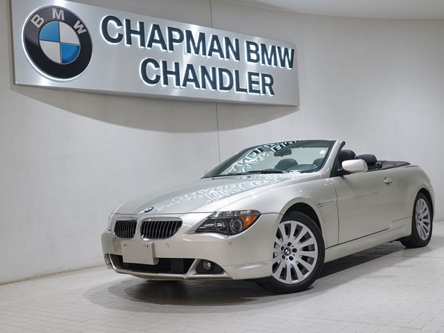 2004 BMW 6-Series 645Ci Nav