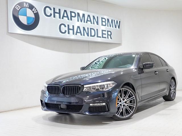 Used 2018 BMW 5-Series 540i M-Sport Pkg Nav
