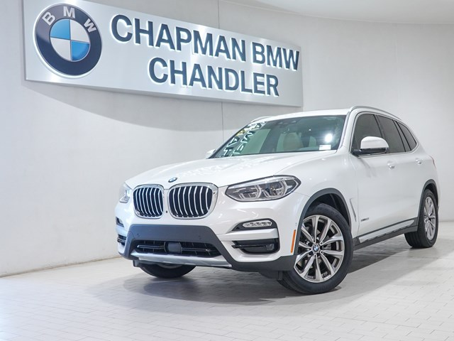 Certified Pre-Owned 2018 BMW X3 xDrive30i Exec Pkg Nav