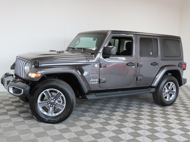 Used 2019 Jeep Wrangler Unlimited Sahara