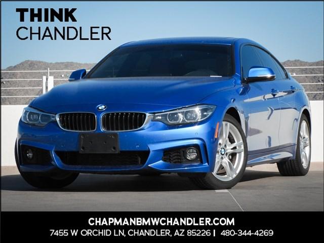Used 2018 BMW 4-Series 430i Gran Coupe Prem/M-Sport Pkg Nav
