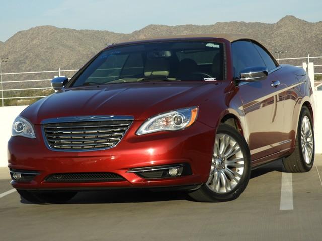 2013 Chrysler 200 Convertible Limited Nav