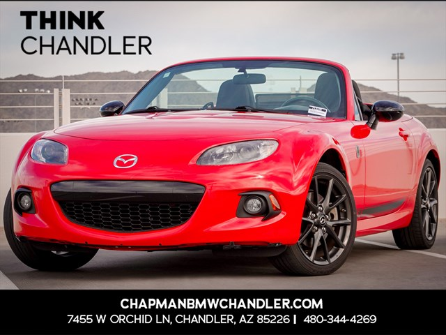 Used 2015 Mazda MX-5 Miata Club