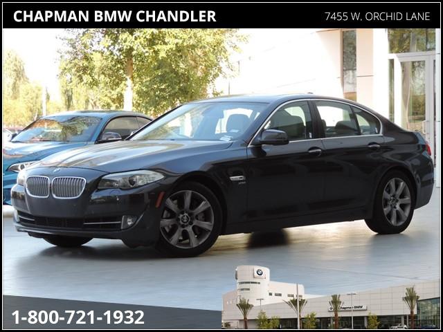 2011 BMW 5-Series 550i xDrive Prem2 Pkg Nav Details