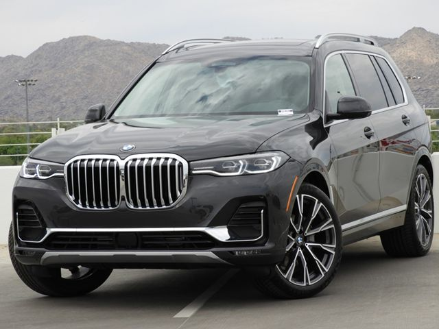 2019 BMW X7 xDrive40i 8-Speed Steptronic Automatic w/Sport Transmission AWD
