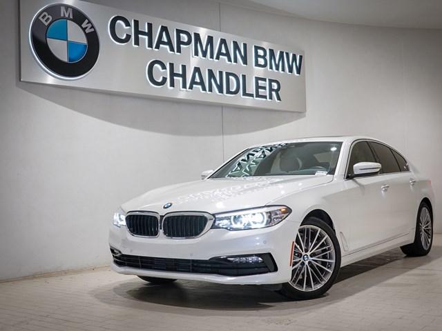 Certified Pre-Owned 2018 BMW 5-Series 540i Premium Pkg Nav