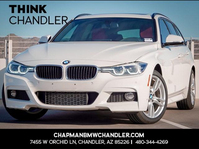 Certified Pre-Owned 2018 BMW 3-Series 328d xDrive Premium /  M Sport Pkg Nav