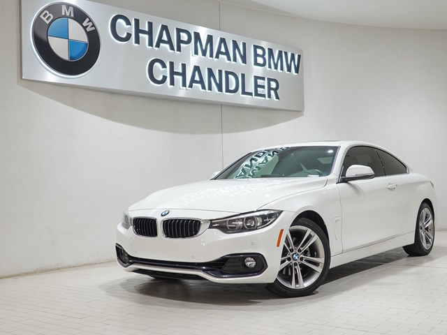 Certified Pre-Owned 2018 BMW 4-Series 430i Prem Pkg Nav