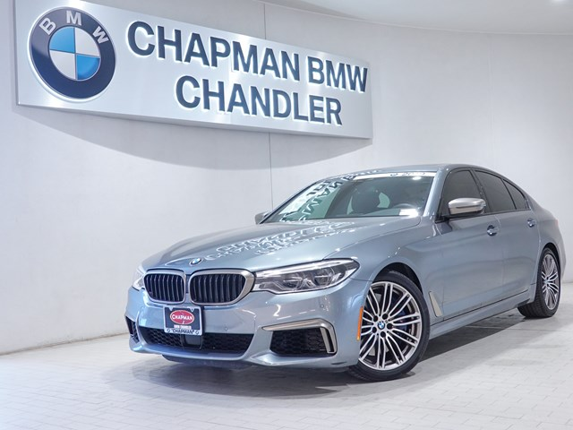 Certified Pre-Owned 2019 BMW 5-Series M550i xDrive Nav