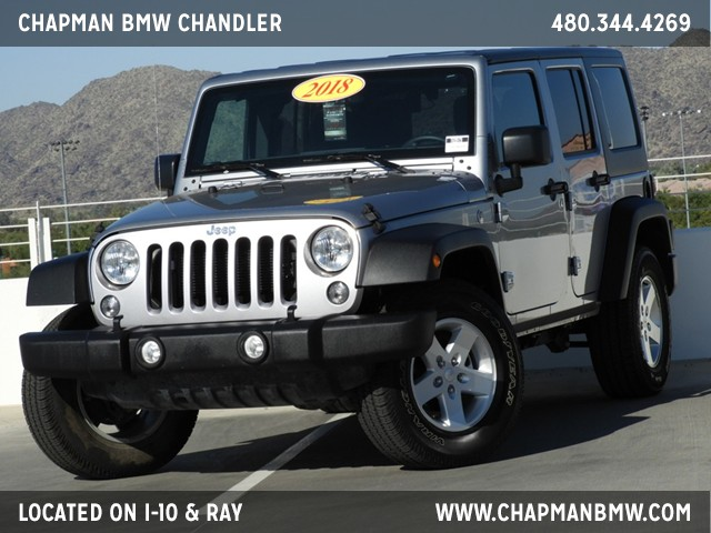 2018 Jeep Wrangler Unlimited Sport – Stock #T69979