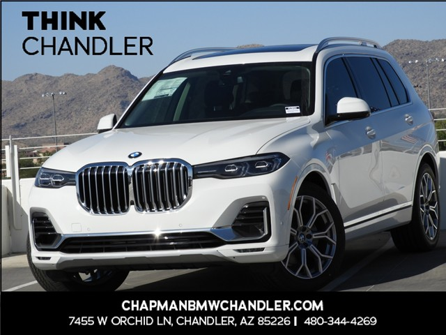 2020 BMW X7 xDrive40i 8-Speed Steptronic Automatic w/Sport Transmission AWD