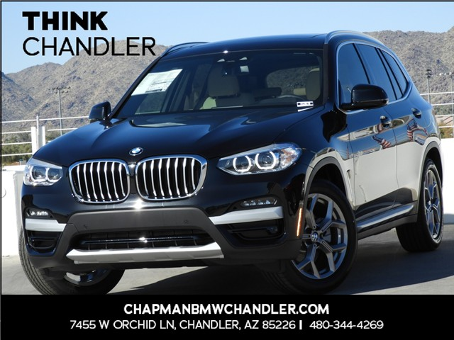 2020 BMW X3 sDrive30i 8-Speed Steptronic Automatic w/Sport Transmission RWD