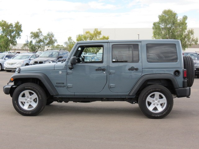 Used 2014 Jeep Wrangler Unlimited Sport For Sale Stock