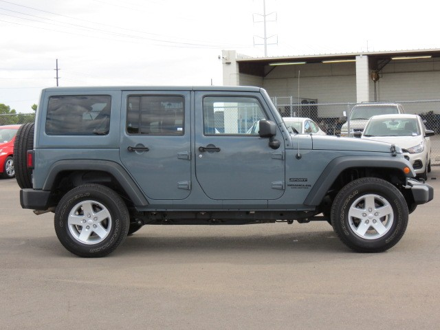 Used 2014 Jeep Wrangler Unlimited Sport Stock 63436