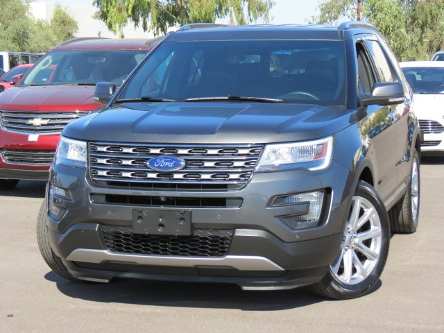 used 2016 ford explorer limited phoenix az stock 63866. Black Bedroom Furniture Sets. Home Design Ideas