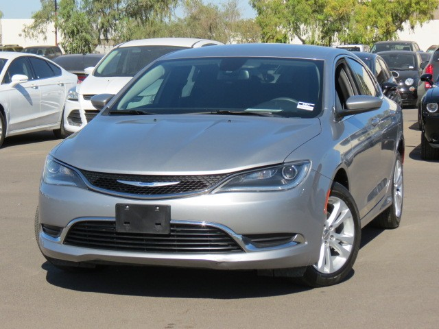 used 2015 chrysler 200 limited phoenix az stock 63971 chapman chevy. Black Bedroom Furniture Sets. Home Design Ideas