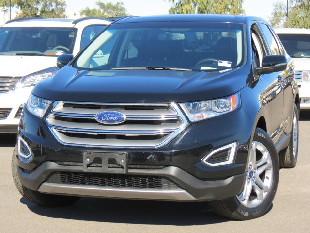 used 2016 ford edge titanium for sale stock 70501 chapman dodge chrysler jeep ram. Black Bedroom Furniture Sets. Home Design Ideas