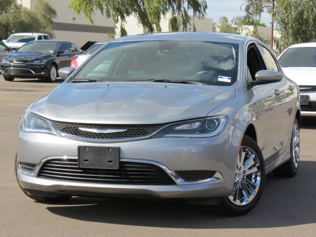 used 2015 chrysler 200 limited for sale stock 70517 chapman bmw on camelback. Black Bedroom Furniture Sets. Home Design Ideas